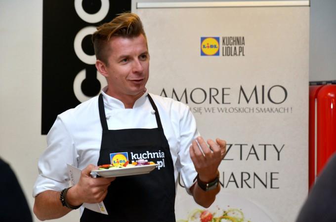 Warsztaty z kuchni włoskiej z Karolem Okrasą