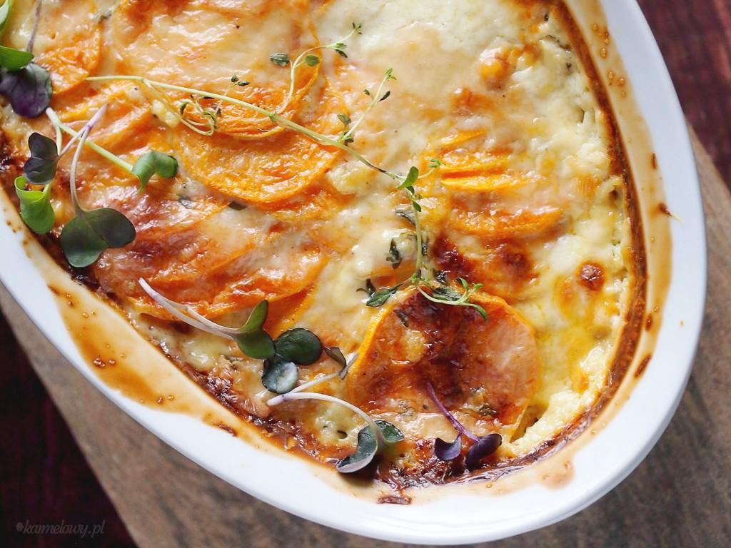 Zapiekane bataty / Sweet potato gratin