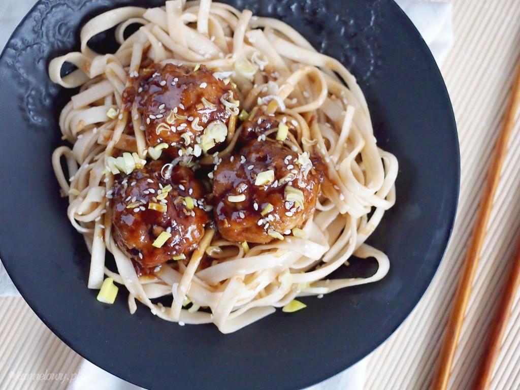 Klopsiki teriyaki / Teriyaki meatballs