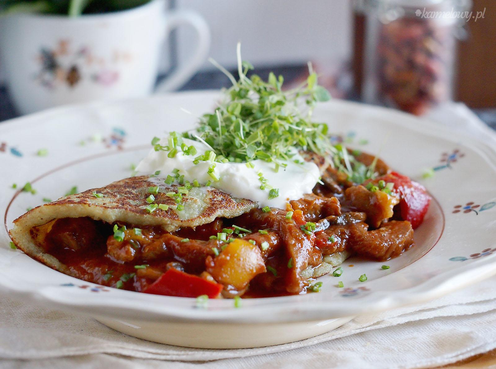 Placki Ziemniaczane Po Wegiersku Hungarian Style Potato