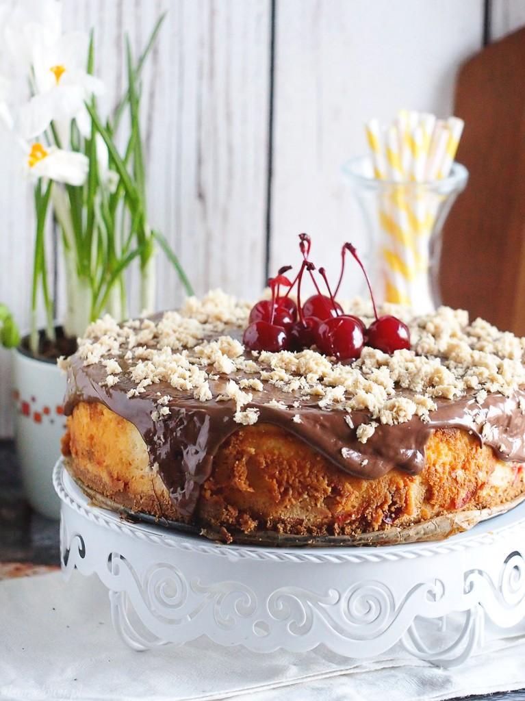 Sernik chałwowy / Halva cheesecake