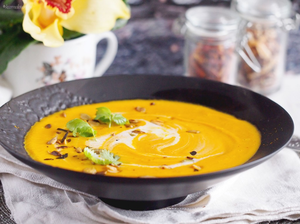 Marchewkowa zupa krem / Creamy carrot soup
