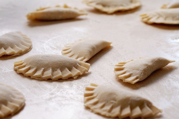 Podstawowe ciasto na pierogi / Basic pierogi dough