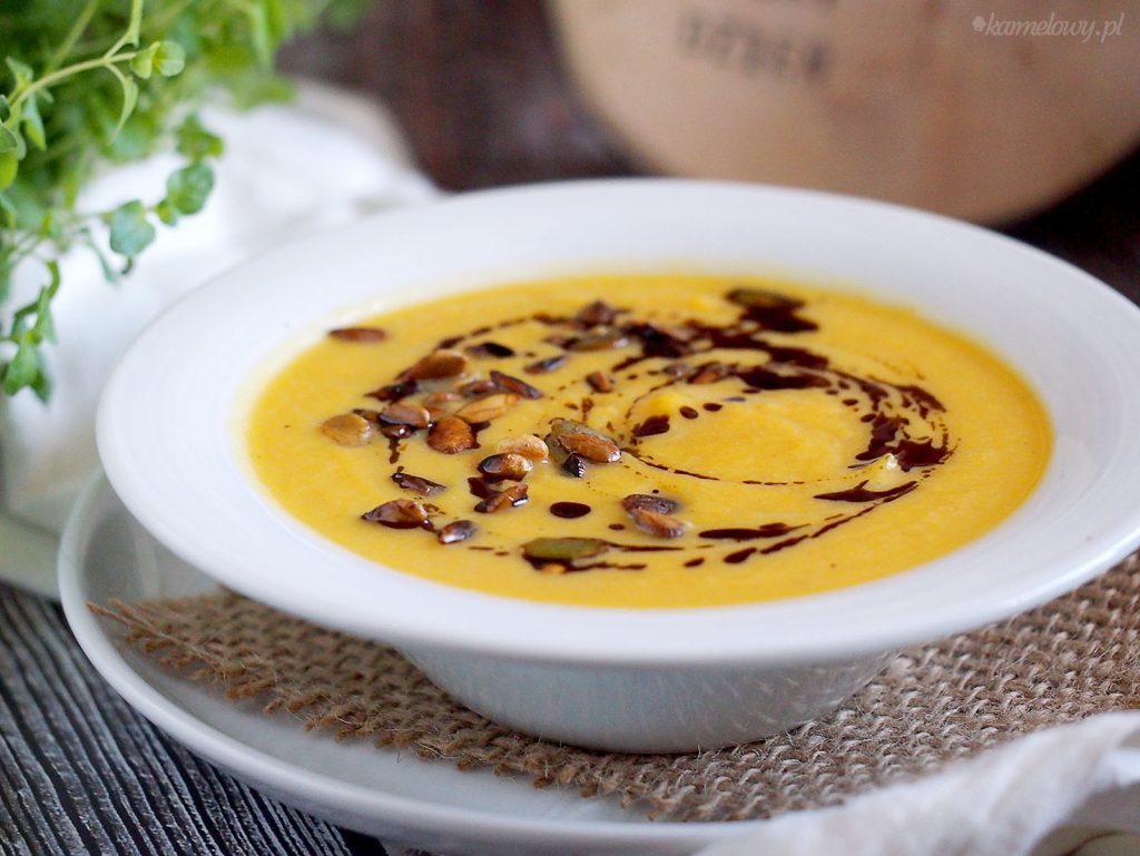 Zupa krem z dyni i kalafiora / Pumpkin and cauliflower soup