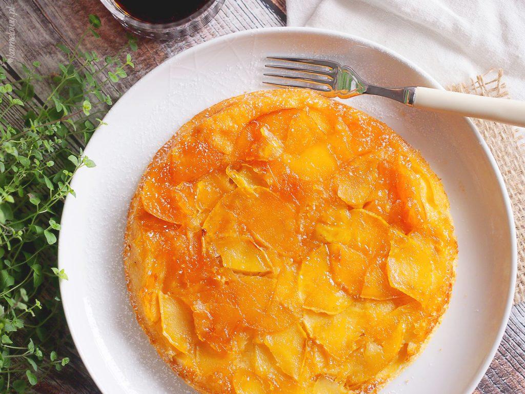 Puszysty omlet z jabłkami / Fluffy apple pancake