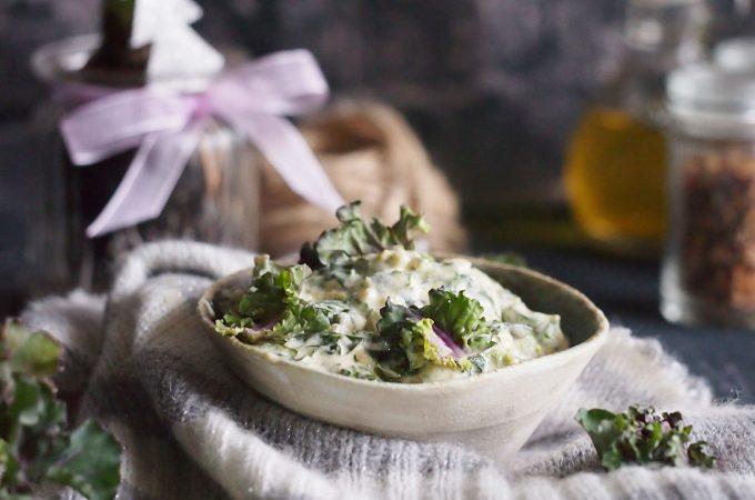 Klerosse w śmietance z parmezanem / Creamed parmesan kalettes