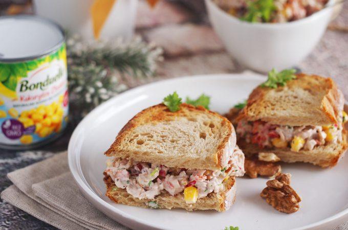 Sałatka z pieczonym kurczakiem i KONKURS! / Roasted chicken salad