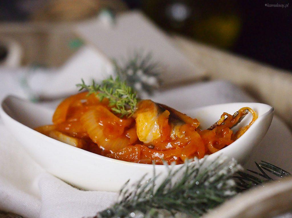 Śledzie w miodowej cebuli / Herring with honeyed onion