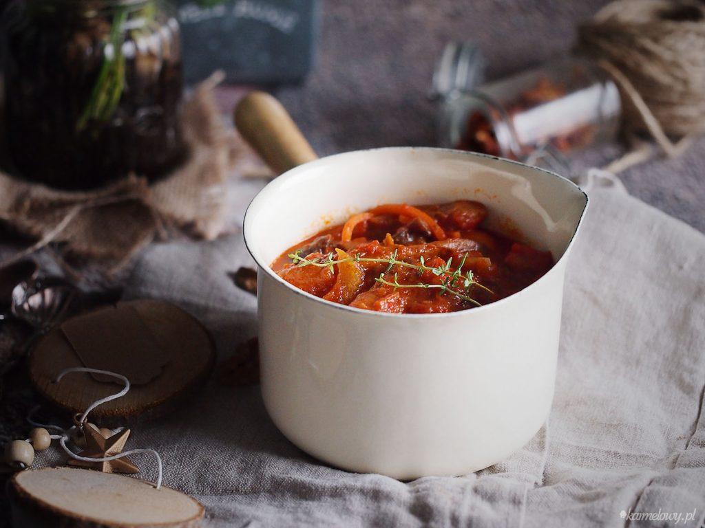 Gulasz z boczniaków / Oyster mushroom stew