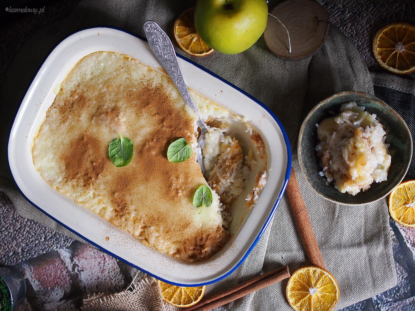 Ryż Z Jabłkami I Cynamonem Apple Cinnamon Rice Pudding