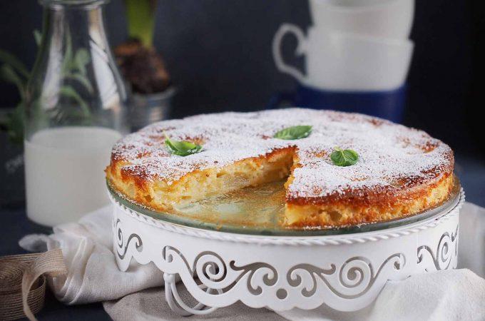 Łatwe-ciasto-z-gruszkami-Easy-pear-cake