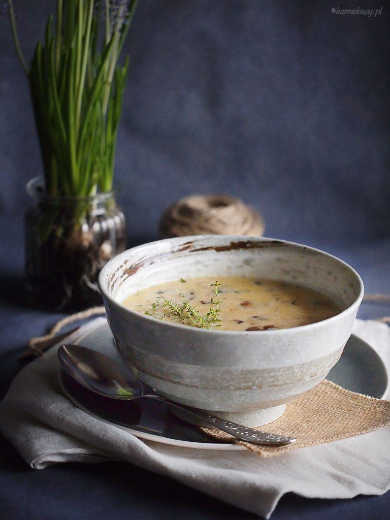 Zupa grzybowa z brie / Mushroom and brie soup