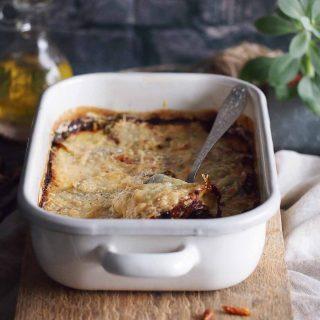 Zapiekanka-ziemniaczana-z-gorgonzola-szpinakiem-i-boczkiem-Bacon-spinach-and-gorgonzola-potato-gratin