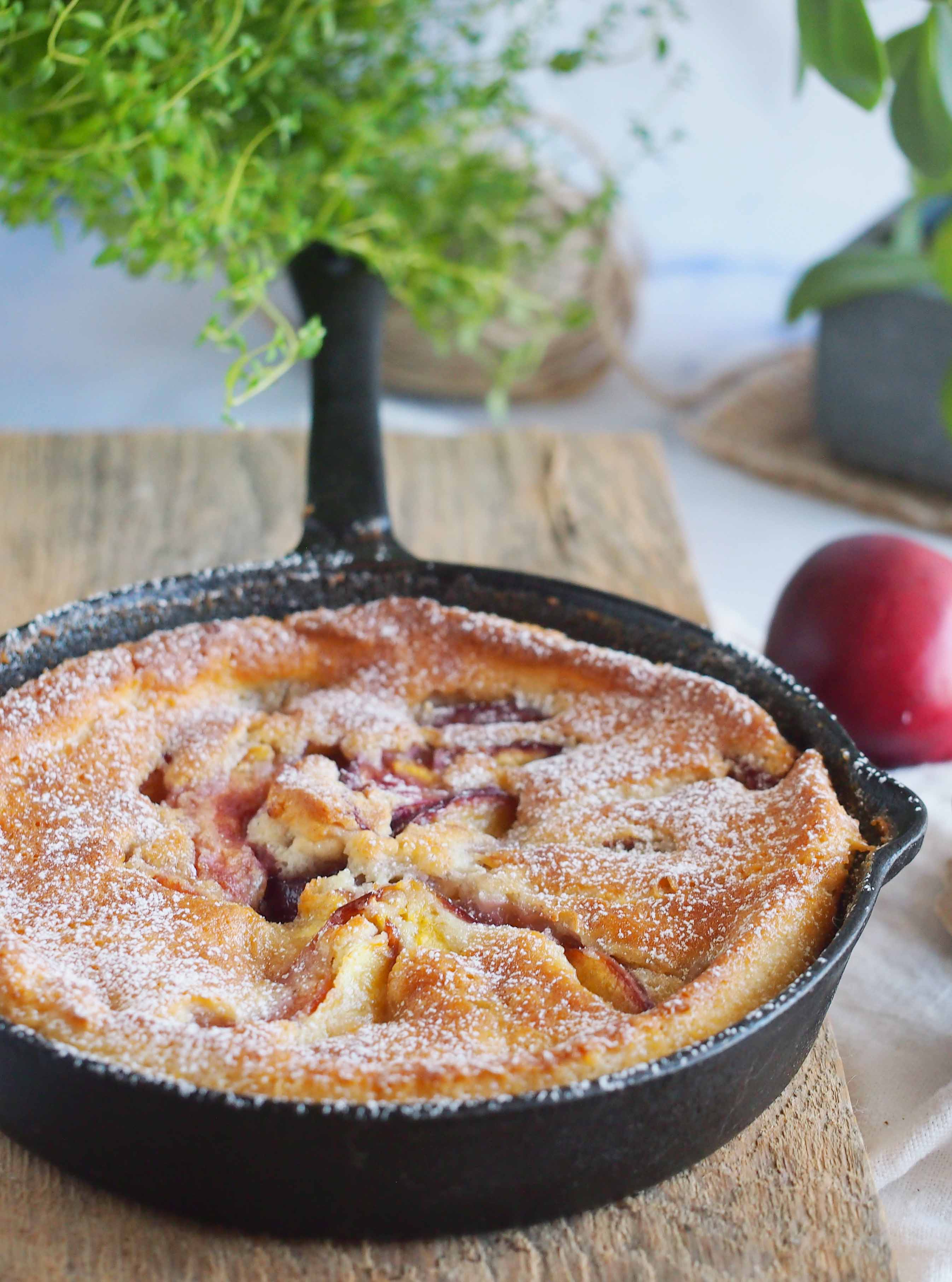 Latwe-ciasto z-nektarynkami-Easy-nectarine-cobbler