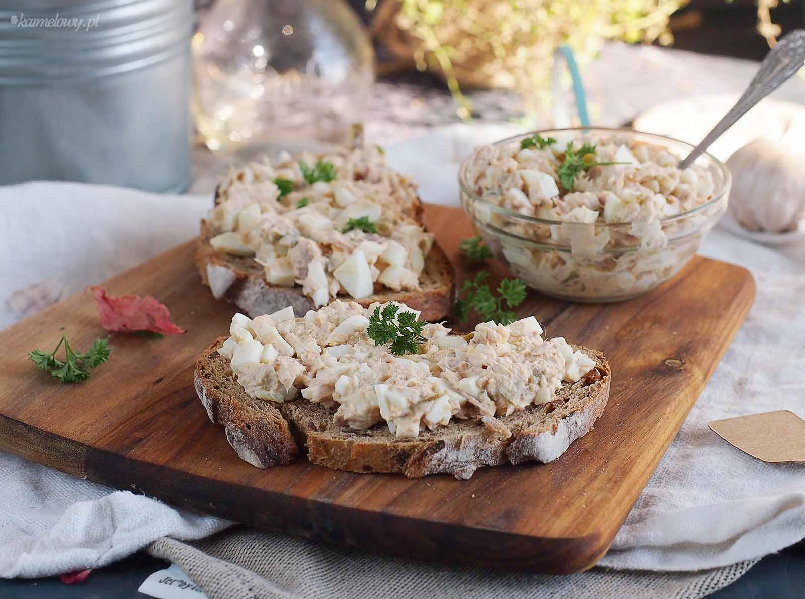 Salatka-jajeczna-z-tunczykiem-Tuna-egg-salad