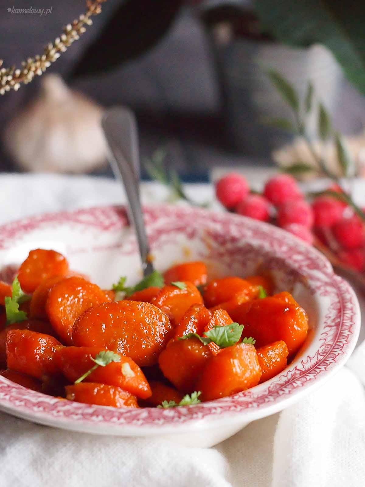 Marchewka-glazurowana-z-imbirem-Sugar-glazed-carrot-with-ginger