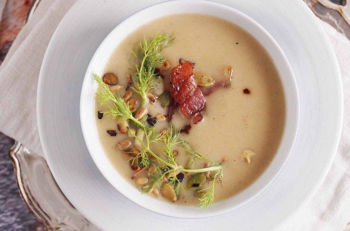 Zupa-krem-ze-skorzonery-Creamy-salsify-soup