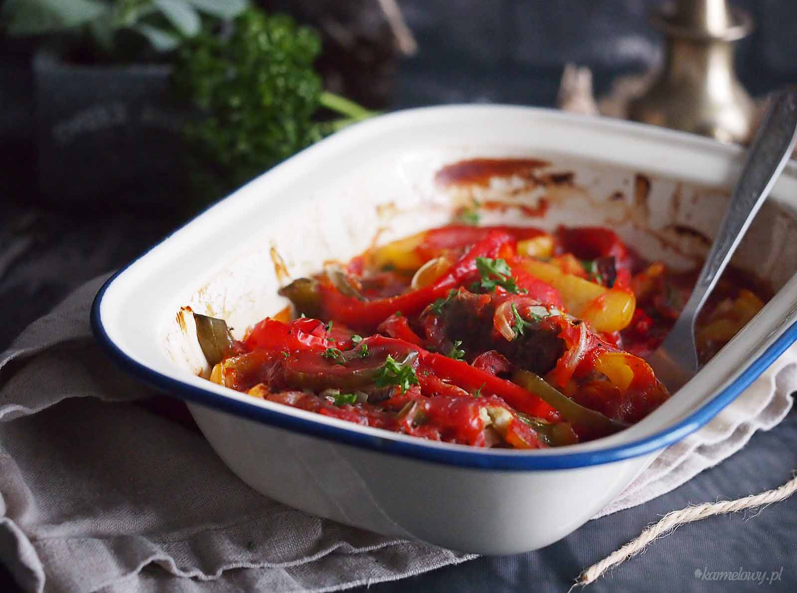 Latwa-wolowina-zapiekana-z-papryka-Easy-beef-and-pepper-bake