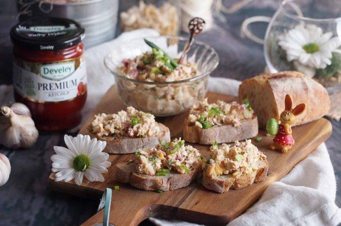 Sałatka jajeczna z tuńczykiem / Tuna egg salad