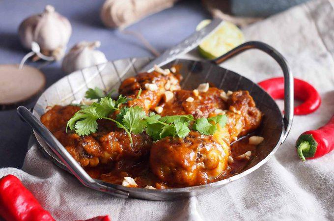 Łatwy kurczak w sosie satay / Easy satay chicken