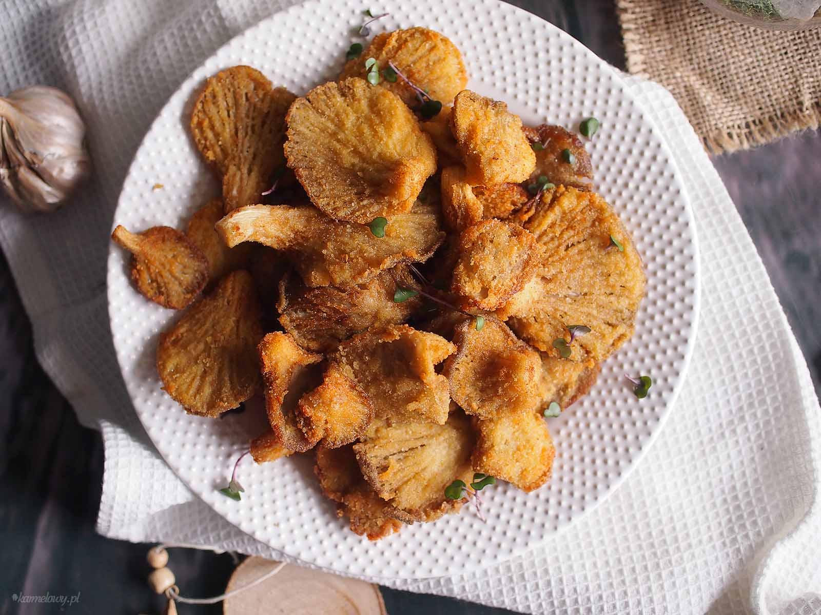 Boczniaki-w-panierce-Crumbed-oyster-mushrooms