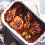 Udka-kurczaka-w-sosie-z-powidlami-i-cebula-Chicken-legs-baked-with-onion-and-plum-jam-sauce