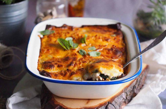 Zapiekanka z mięsem, cukinią i ziemniakami / Meat, zucchini and potato bake