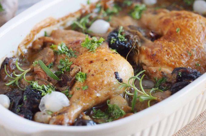 Kurczak-zapiekany-z-boczniakami-i-wedzona-sliwka-Chicken-baked-with-oyster-mushrooms-and-prunes