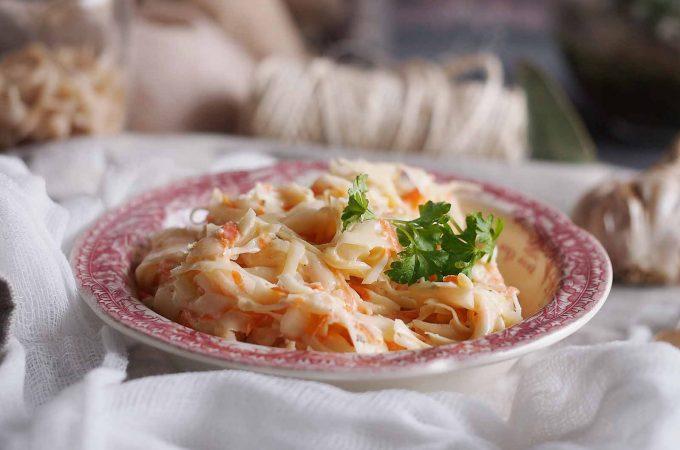 Łatwa surówka ze słodkiej kapusty / Easy cabbage salad