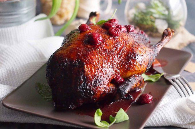 Kaczka-w-sosie-wisniowym-Duck-with-cherry-sauce
