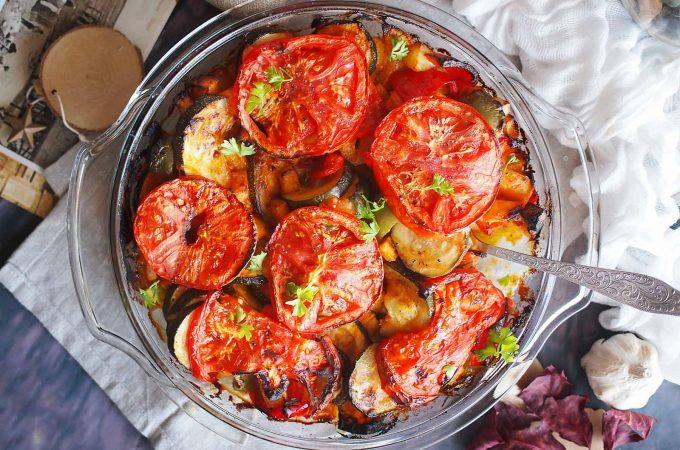 Pieczone letnie warzywa / Roasted summer vegetables